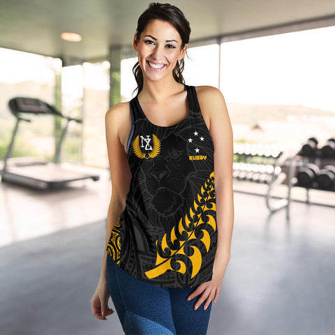 Image of New Zealand Maori Rugby Lion Women Tank Top K5 - 1st New Zealand