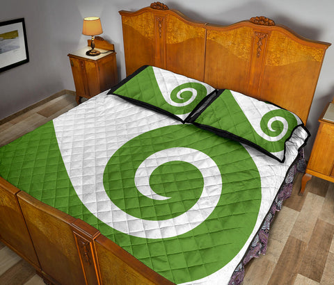 New Zealand Flag Hundertwasser Koru Quilt Bedding Sets K5 - 1st New Zealand