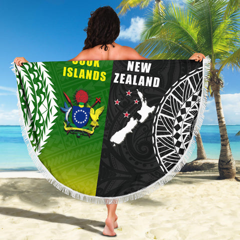 Image of New Zealand Cook Islands Beach Blanket K4 Front 4