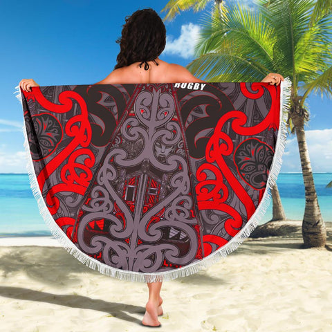 Beach Blanket NZ Maori Rugby K4 - 1st New Zealand