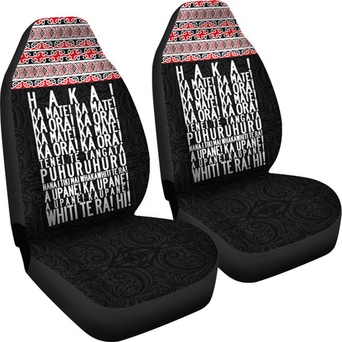 New Zealand HaKa Ka Mate Koru Car Seat Covers K47 - 1st New Zealand