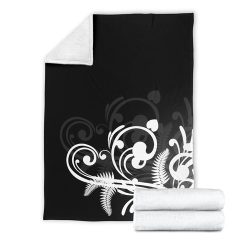 Image of Silver Fern New Zealand Blanket - White