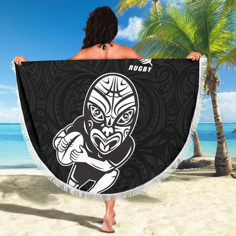 Beach Blanket NZ Rugby Haka New Style K4 - 1st New Zealand