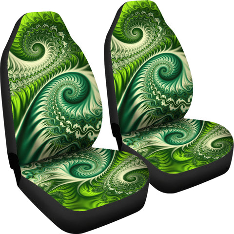 Image of New Zealand Koru Fern Car Seat Covers K4 - 1st New Zealand