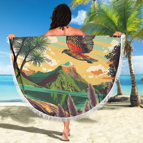 Kea New Zealand Beach Blanket K5 - 1st New Zealand