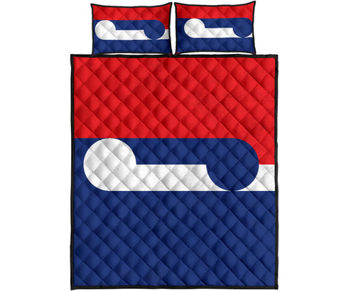 New Zealand Flag Huihui Together Quilt Bedding Sets K54 - 1st New Zealand