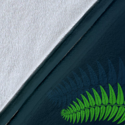 Image of Silver Fern Premium Blanket Green - 1st New Zealand