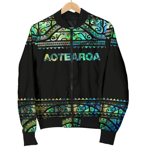 New Zealand Jackets, Aotearoa Maori Silver Fern Women's Bomber Jackets K4x - 1st New Zealand