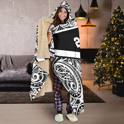 Image of Rugby Aotearoa Win 2019 Hooded Blanket K24