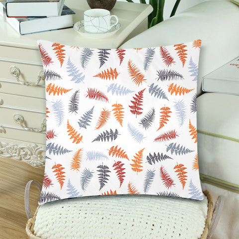 New Zealand Fern Leaves Pattern Zippered Pillow Cases 10 - 1st New Zealand