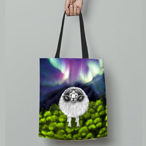 New Zealand Sheep Tote Bag Southern Lights K4 - 1st New Zealand