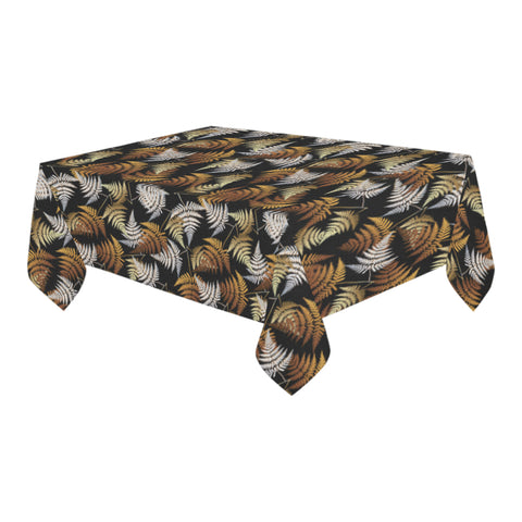New Zealand Silver Fern Tablecloth - 1st New Zealand