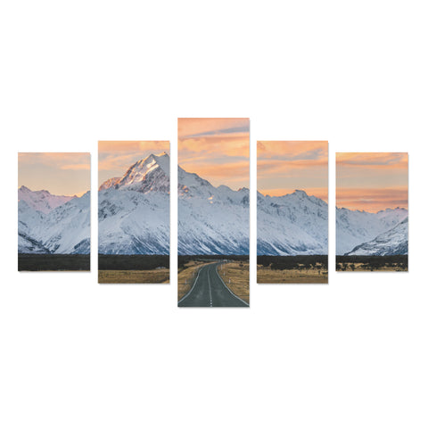 Image of New Zealand Landscape Canvas Print - Mount Cook K4 - 1st New Zealand