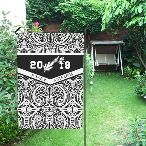Image of Aotearoa Rugby Win 2019 Flag K4