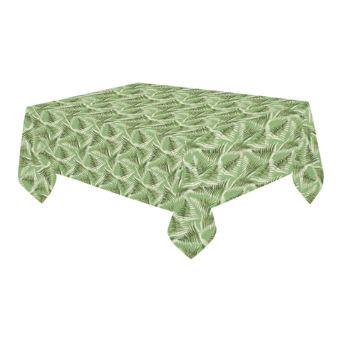 New Zealand Silver Fern Tablecloth Green - 1st New Zealand