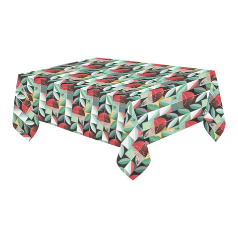 New Zealand Pohutukawa Tablecloth Green - 1st New Zealand