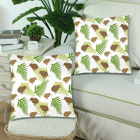 new zealand pillow, home decor, home set, pillow cover, pillow cases, zippered pillow cases, online shopping, 1stnewzealand, silver fern, kiwi, kiwi bird