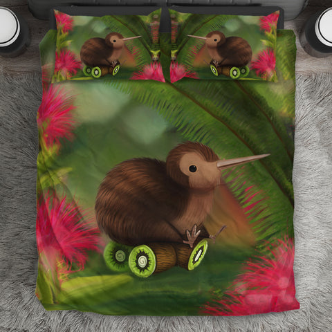Kiwi So Cute New Zealand Bedding Set 2