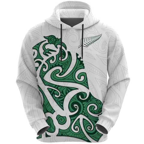 Image of Maori Protection Tattoo Hoodie K4 - 1st New Zealand