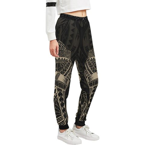 Maori Tattoo New Zealand Sweatpants Golden K5