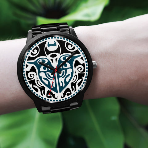 Maori Sign Tui Bird Black Watch K4