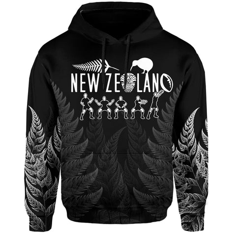 NZ Hoodie Haka Rugby Exclusive Edition K4 - 1st New Zealand