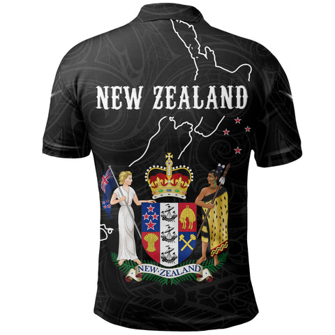 Image of New Zealand Special Polo Shirt K5 - 1st New Zealand