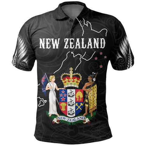 New Zealand Special Polo Shirt K5 - 1st New Zealand
