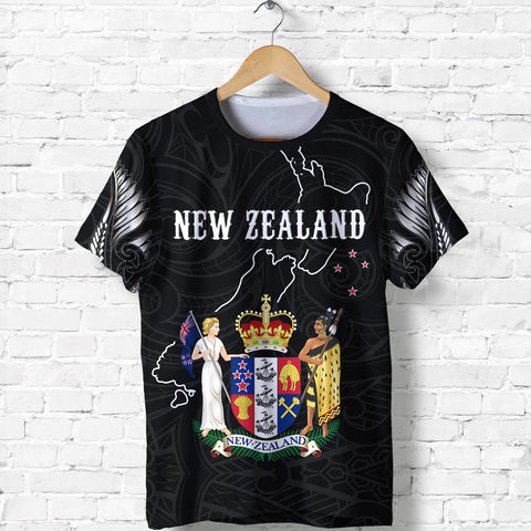 New Zealand Special T shirt K5 - 1st New Zealand