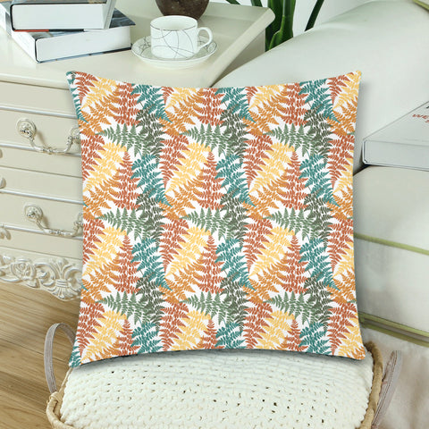 New Zealand Fern Leaves Pattern Zippered Pillow Cases 15 - 1st New Zealand