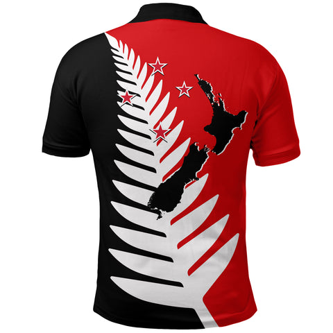 New Zealand Lest We Forget Polo Shirt - Remember Them K4 - 1st New Zealand
