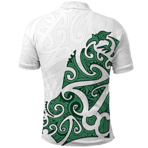 Maori Protection Tattoo Polo Shirt K4 - 1st New Zealand