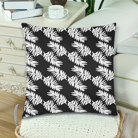 New Zealand Fern Leaves Pattern Zippered Pillow Cases 06 - 1st New Zealand