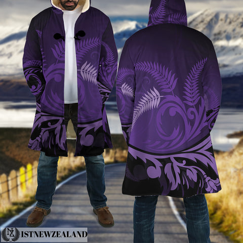 New Zealand Silver Fern Cloak Purple - 1st New Zealand