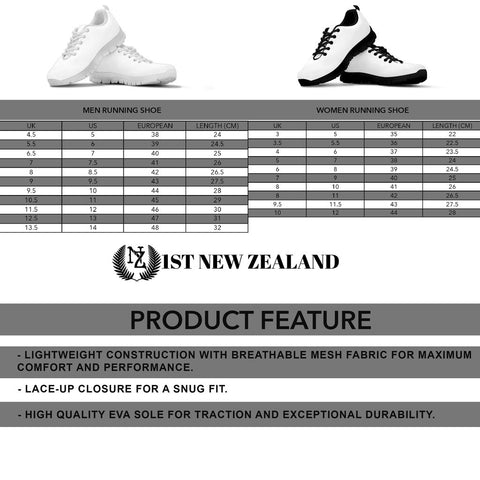 Image of Silver Fern New Zealand Sneakers L15 - 1st New Zealand