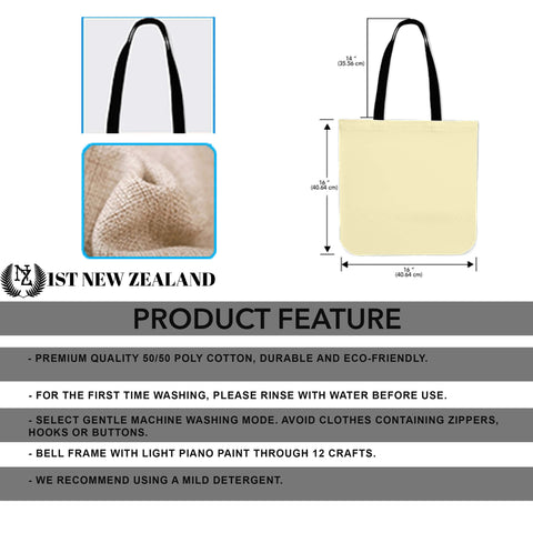 New Zealand Is Calling Tote Bag - 1st New Zealand