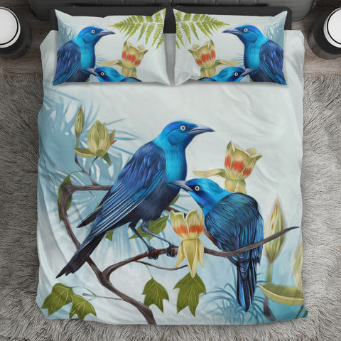 Tui Couple New Zealand Bedding Set K4
