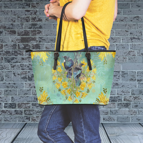 Tui Lover Large Tote Bag - Turquoise Color - For Woman 2