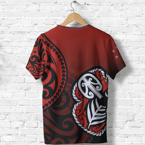 Image of Lest We Forget - Maori Poppy Pullover T shirt Th00 - 1st New Zealand