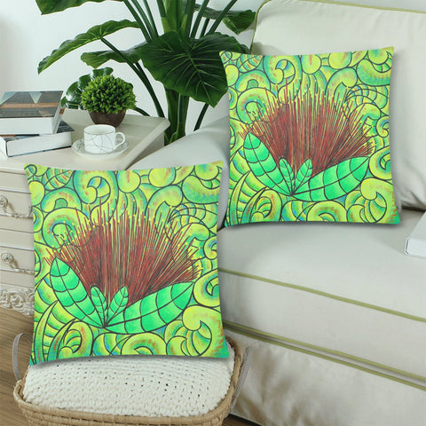 Image of Pohutukawa New Zealand Zippered Pillow Cases 07 - 1st New Zealand