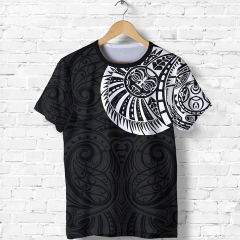 New Zealand Maori T Shirt, Maori Warrior Tattoo Shirt - White A75 - 1st New Zealand