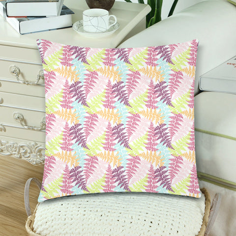 New Zealand Fern Leaves Pattern Zippered Pillow Cases 21 - 1st New Zealand