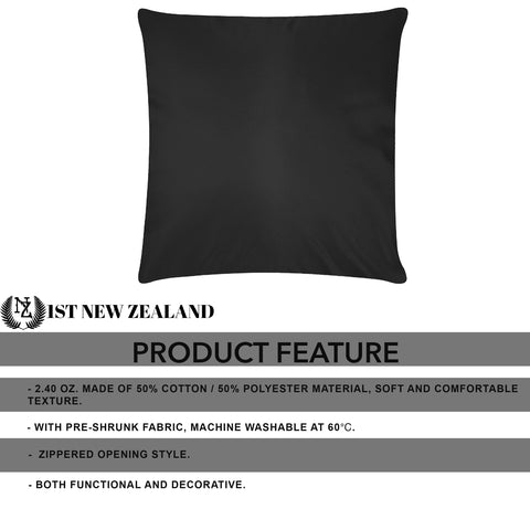 Image of New Zealand Silver Fern Art Pillow Cases K5 - 1st New Zealand