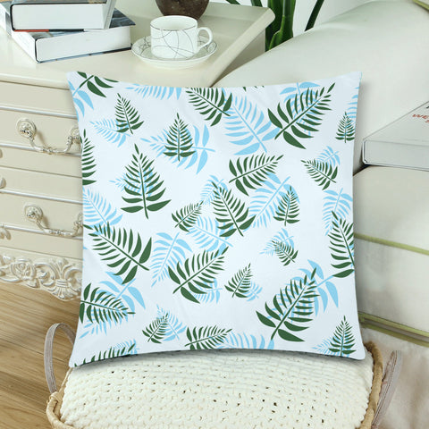 New Zealand Fern Leaves Pattern Zippered Pillow Cases 07 - 1st New Zealand