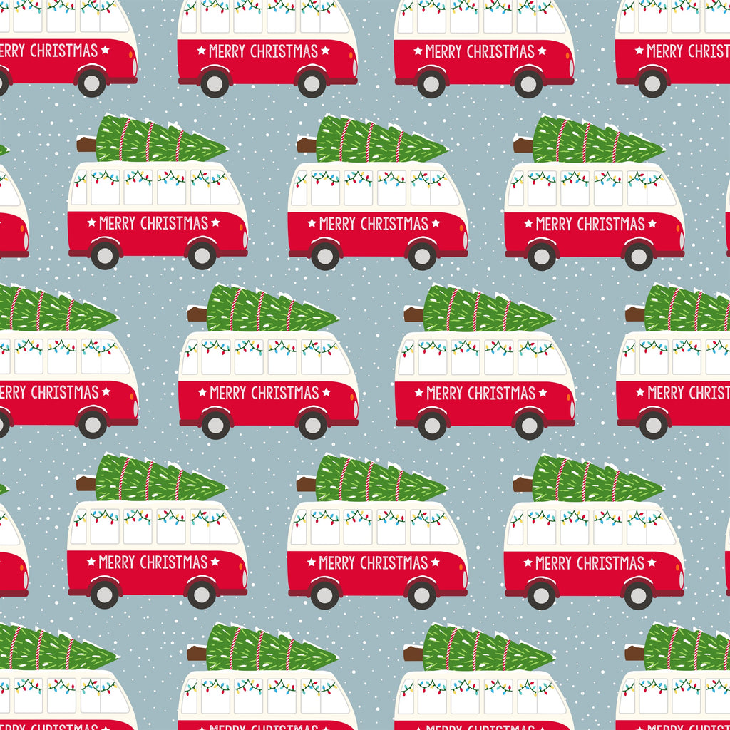 Christmas Camper Van Wrapping Paper