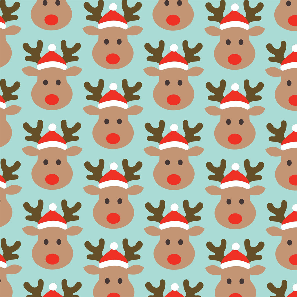 Rudi rudolph wrapping paper