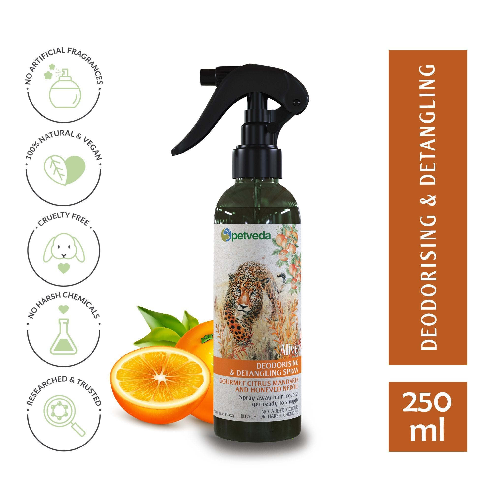 Alive - Gourmet Citrus Mandarin & Honeyed Neroli Deodorizing Spray 250ml