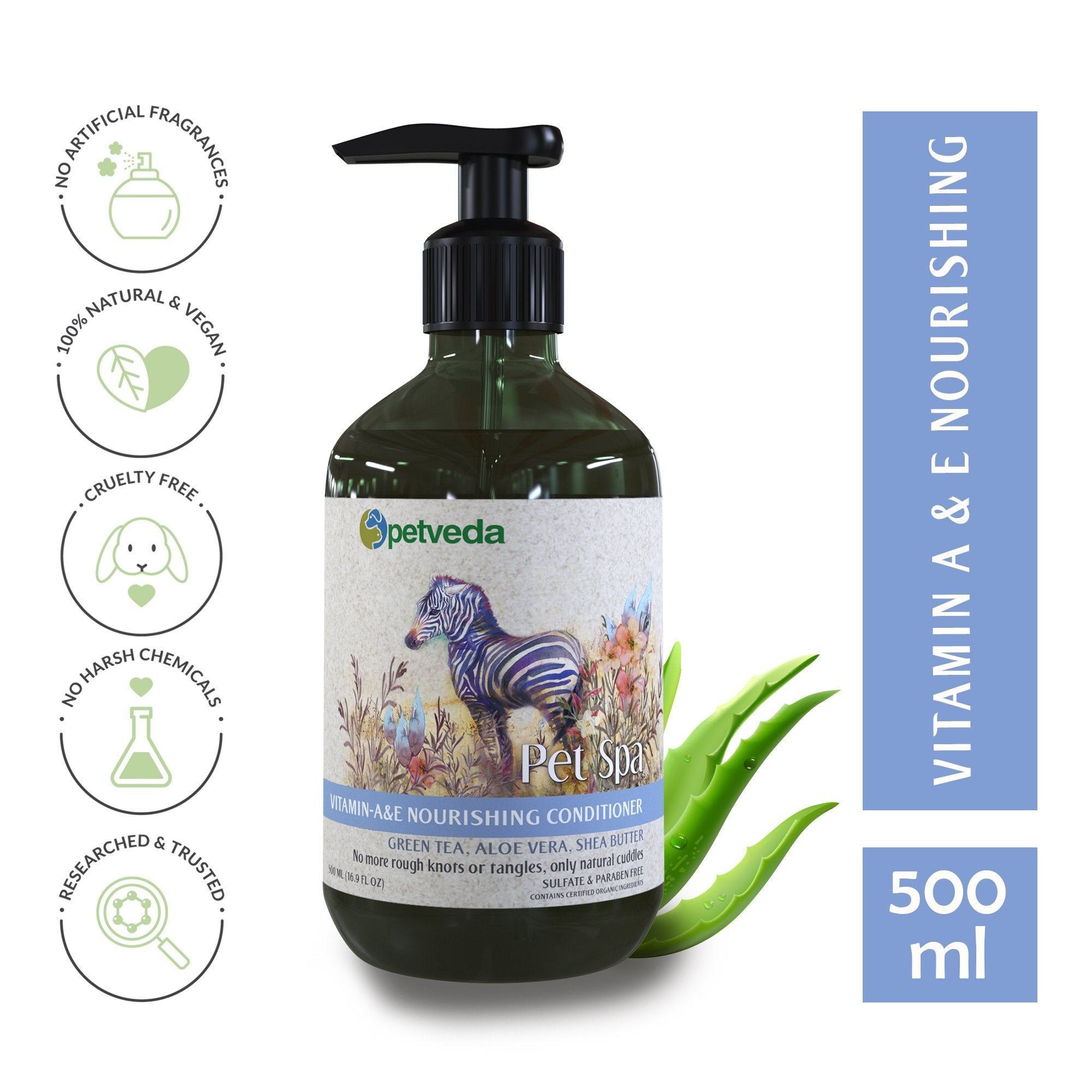 Pet Spa - Vitamin A & E Nourishing Conditioner 500ml