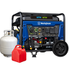 Westinghouse | Dual Fuel Generators Collection, showing all models that run on Propane and Gasoline.