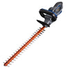 20V hedge trimmer on a white background